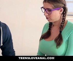 TeensLoveAnalStep-Dad fucks daughter in the assHD