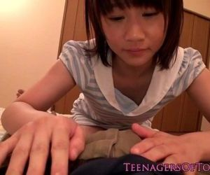 Japanese teen schoolgirl gargling some cum - 8 min HD
