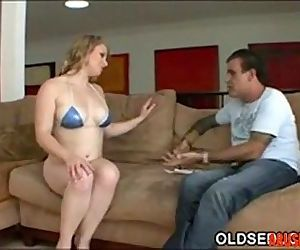 Step-dad Seduced by Teen Tits, Free Old & Young Porn Video - abuserporn.com - 3 min
