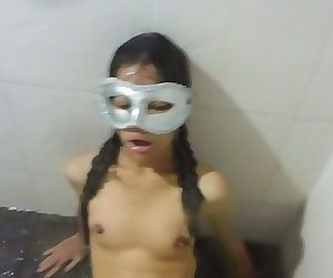 Thai student get hard big dick in her tight pussy - GF 18 years Asian Teen