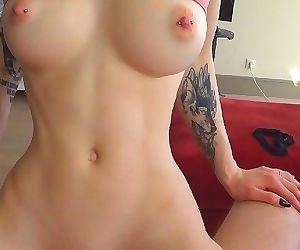 Nympho Step Sister cum twice on Brothers Cock - Amateur Teen LittleReislin